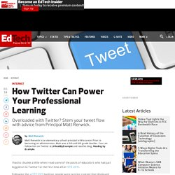 How Twitter Can Power Your Professional Learning