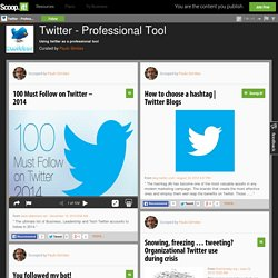 Twitter - Professional Tool