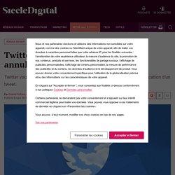 Twitter réfléchit à un bouton pour annuler l'envoi d'un tweet