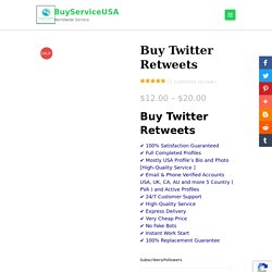 Get Organic and targeted Real retweets cheap Rate