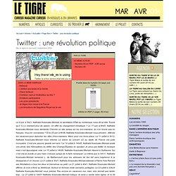 Twitter : une révolution politique