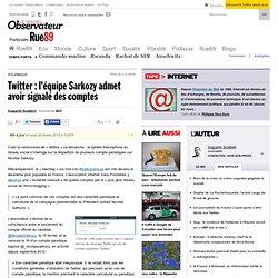 Pourquoi Twitter censure-t-il des comptes parodiant Sarkozy?