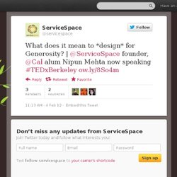 servicespace: What does it mean to *desi