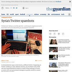 Syria's Twitter spambots