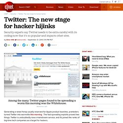 Twitter: The new stage for hacker hijinks