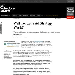Will Twitter's Ad Strategy Work?