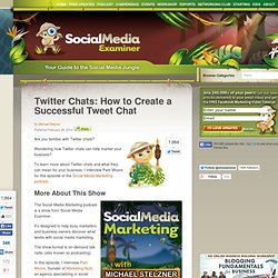 Twitter Chats, How to Create a Successful Tweet Chat