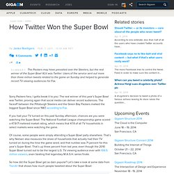 How Twitter Won the Super Bowl — Online Video News