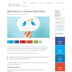 Why Twitter is a Teacher's Best Friend