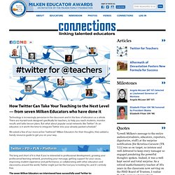 Twitter for Teachers » Connections Article