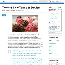 s New Terms of Service