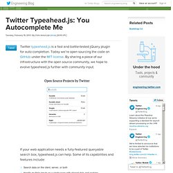 Typeahead.js: You Autocomplete Me