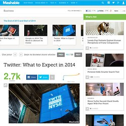 Twitter: What to Expect in 2014