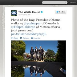 The White House: Photo of the Day: Presiden