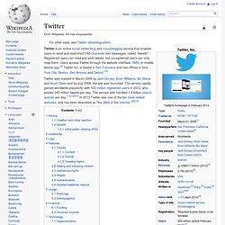 Twitter (Wikipedia)
