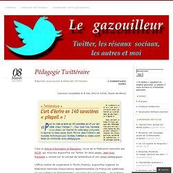 Pédagogie Twittéraire