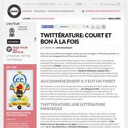 Twittérature: court et bon à la fois » Article » OWNI, Digital Journalism
