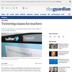 Twittering classes for teachers | Education