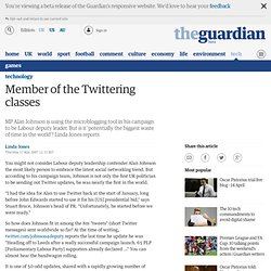 Member of the Twittering classes | Technology