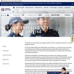 [Positive Punishment] Two Men Arrested For Dangerous Driving