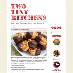 peanut butter pretzel bites & Two Tiny Kitchens - StumbleUpon
