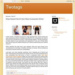 Twotags: Shop Hassle-Free for Gym Wear Accessories Online!