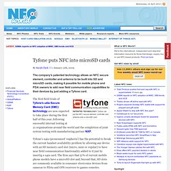 Tyfone puts NFC into microSD cards