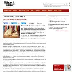 Jak czytać jedną książkę tygodniowo? - Harvard Business Review Polska