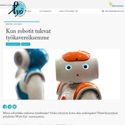 Kun robotit tulevat työkavereiksemme - Työpiste