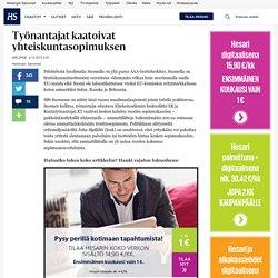 Työnantajat kaatoivat yhteiskuntasopimuksen - Mielipide - Mielipide