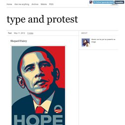 type and protest