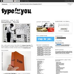 Design&Typo - The site