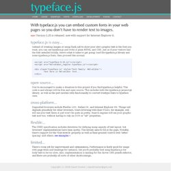 typeface.js -- Rendering text with Javascript, <canvas>, and VML