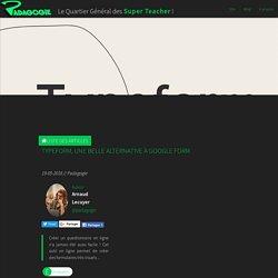 Typeform, une belle alternative à Google Form