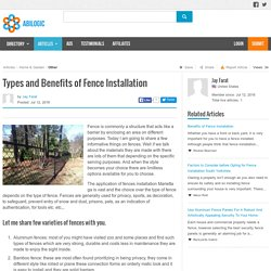 Fence Installation Marietta GA