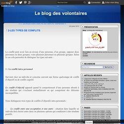 2-LES TYPES DE CONFLITS - Le blog des volontaires