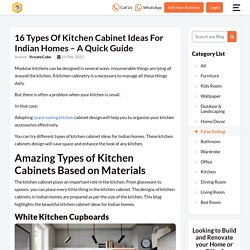Types of Kitchen Cabinets Ideas