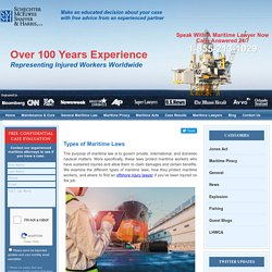 Types of Maritime Laws