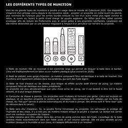 Types de munition