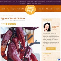 Types of Dried Chillies