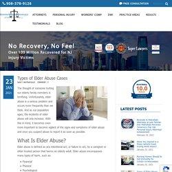 Types of Elder Abuse Cases