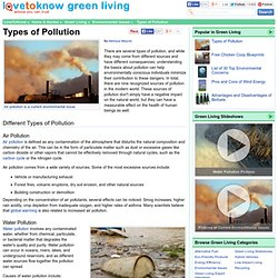 types of pollutions essay The next essay about pollution doesn't have an aim to scare you to death we just  want to  essay on pollution tells about its types there are.