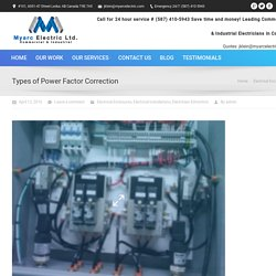What are The Different Types of Power Factor Correction?