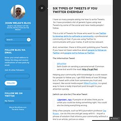 Six types of Tweets if you Twitter everyday « These Digital Time