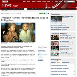 Typhoon Haiyan: Hundreds feared dead in Philippines