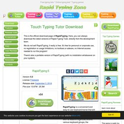 Typing Tutor: Download