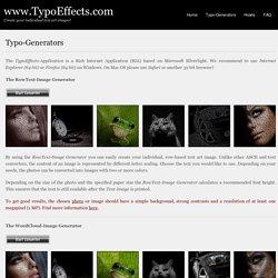 www.TypoEffects.com