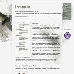 Typografia ja kirjasintyypit
