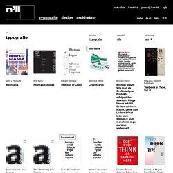 typografiebücher