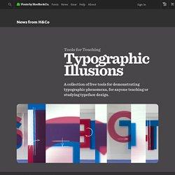 Typographic Illusions